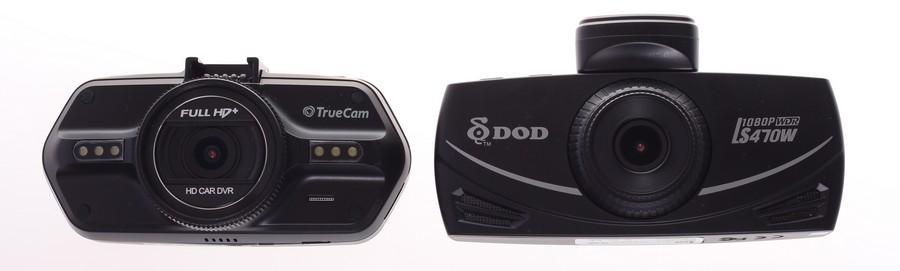 DOD LS470W vs Truecam A7s kamery do auta