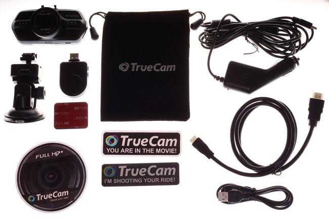 TrueCam A7s  príslušenstvo